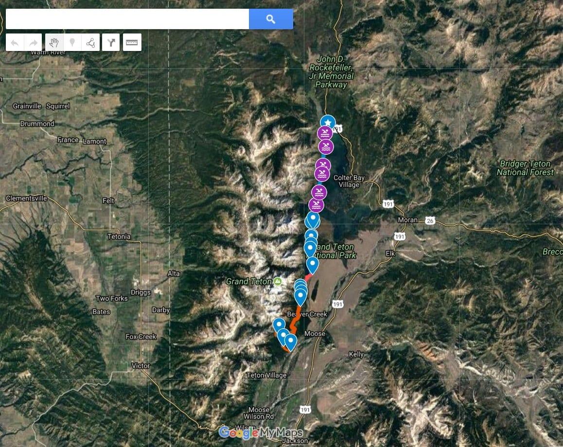 Walther swimming on Jackson Lake - PC: Erik Kampe