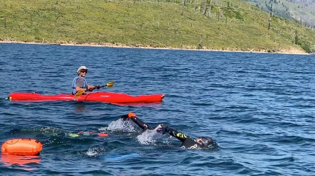 Jackson Hole Adventure Report – Training, experience and 21.5 miles of Endurance Swimming across the 7 Lakes of Grand Teton National Park in the Lake to Lake-Link 2020